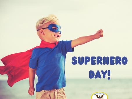 Superhero Day!