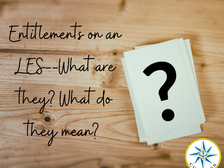 Entitlements on an LES--What are they? What do they mean?