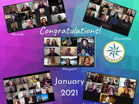 Congratulations to our January COMPASS Graduates!
