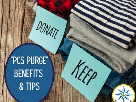 PCS Purge Benefits & Tips