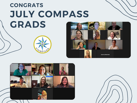 Congratulations to our July COMPASS Graduates!