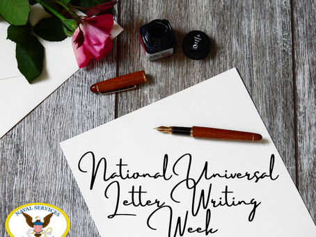 National Universal Letter Writing Week