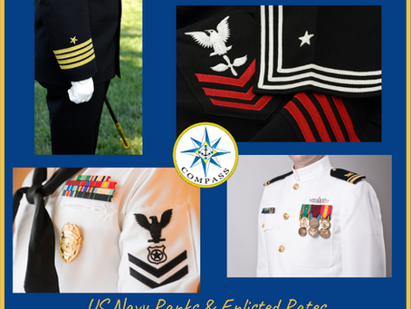 US Navy Ranks & Enlisted Rates