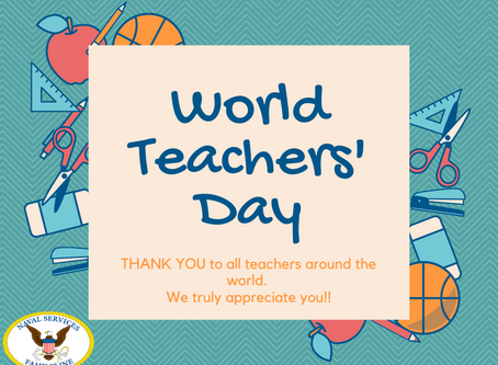 World Teachers' Day!