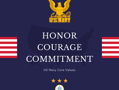 US Navy Core Values