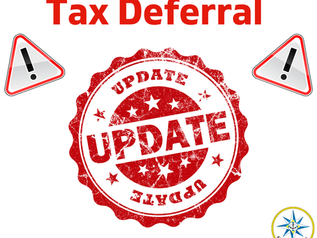 Tax Deferral Update!