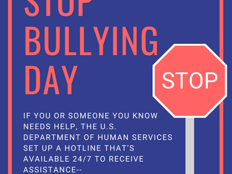 National Stop Bullying Day