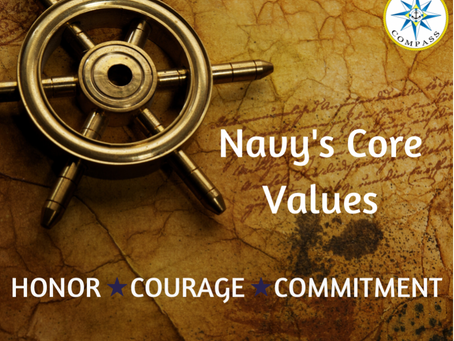 Navy's Core Values