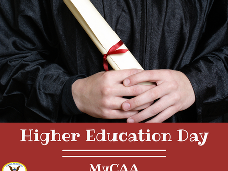 Higher Education Day!