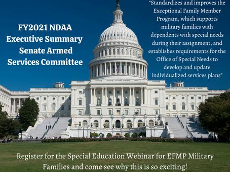 EFMP Special Education Webinar