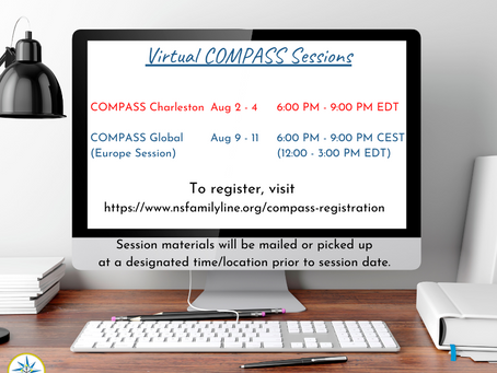 August COMPASS Virtual Sessions