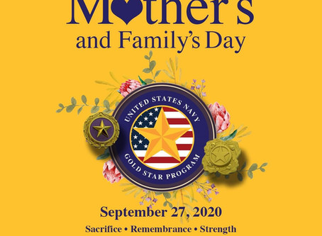 Gold Star Mother's & Family's Day