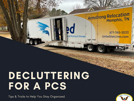 National Pack Rat Day--Decluttering for a PCS