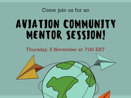 Aviation Community Mentor Sesion