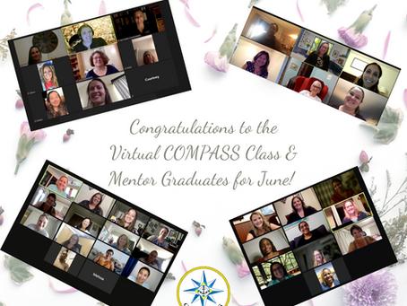 Congratulations to the June Virtual COMPASS Class & Mentor Grads!