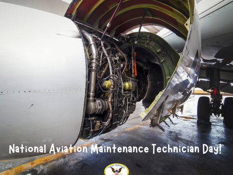 Aviation Maintenance Technician Day!