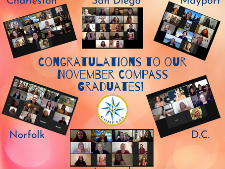 Congrats to our November Virtual COMPASS Grads!!