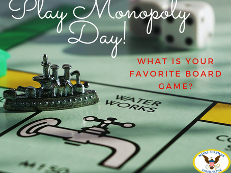 Play Monopoly Day!