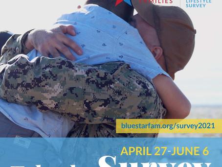 Blue Star Families 2021 Military Family Lifestyle Survey!