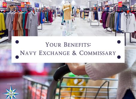 Your Benefits: Navy Exchange & Commissary