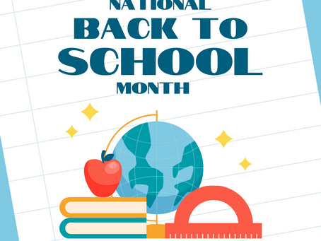 National Back to School Month