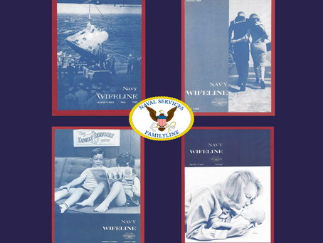 Throwback Thursday-Navy Wifeline Newspaper Covers