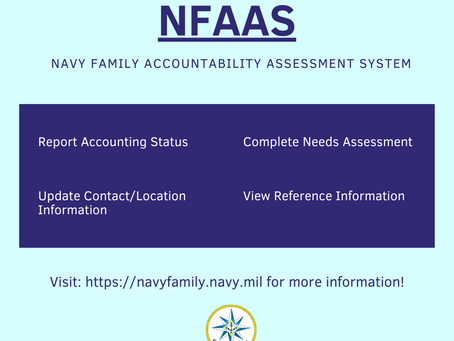 NFAAS-Navy Family Accountability and Assessment System