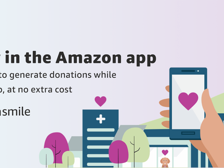 Amazon Smile Now in the App!