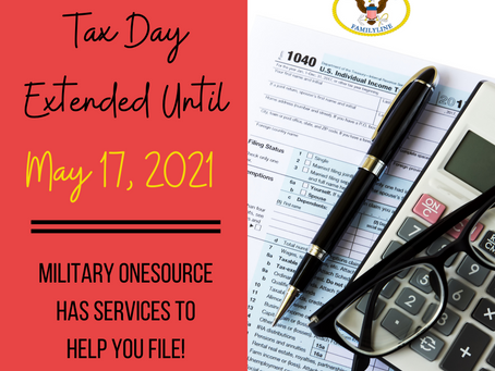Tax Day-Deadline Extension