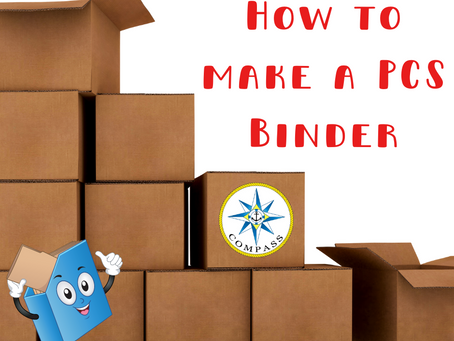 How to Make a PCS Binder