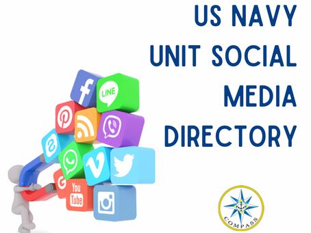 U.S. Navy Unit Social Media Directory