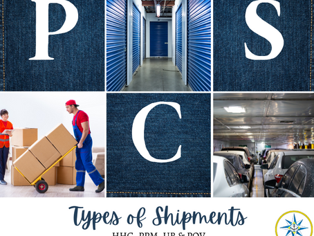 Different Types of PCS Shipments