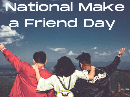National Make a Friend Day