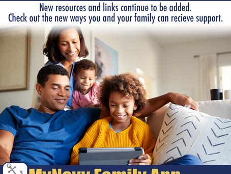 New Updates on the MyNavy Family App!