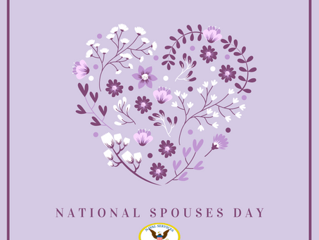 Happy National Spouses Day!