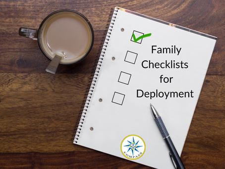 Family Checklists for Deployment