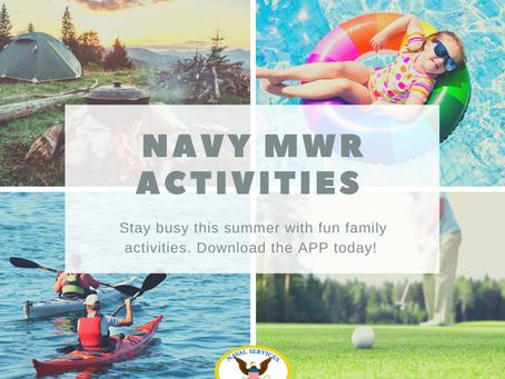 Navy MWR Summer Activities