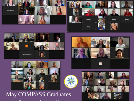 Congratulations to our May Virtual COMPASS Grads!