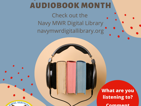 National Audiobook Month