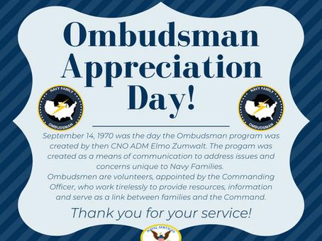 Happy 50th Anniversary to the Navy Ombudsmen Program