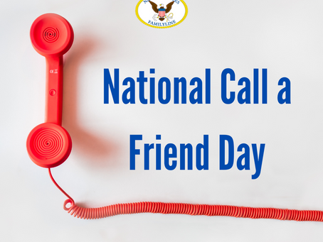 National Call A Friend Day!