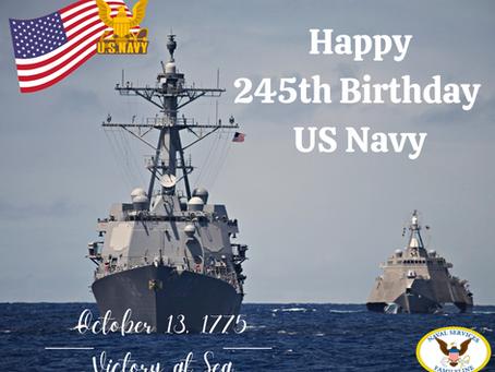 Happy 245th Birthday US Navy!