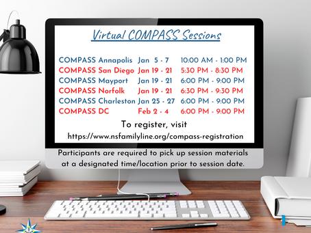 January COMPASS Classes