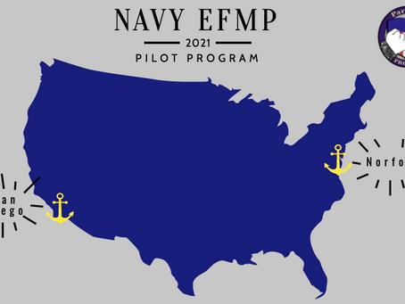 Navy EFMP 2021 Pilot Program