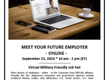 Attention Job Seekers-Virtual Job Fair!