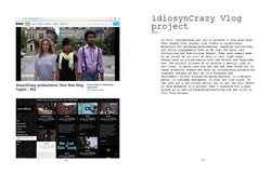 idiosynCrazy Vlog project