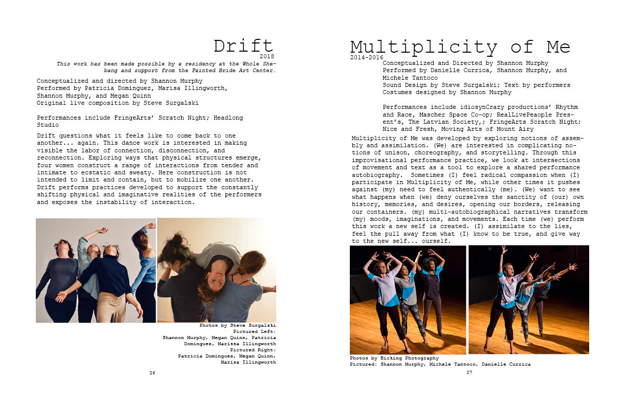 Drift and Multiplicity of Me