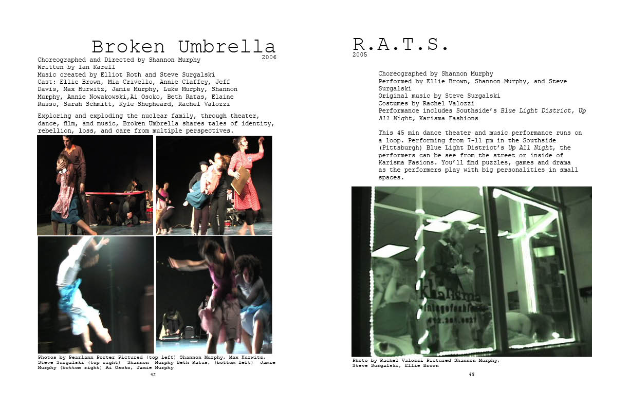 Broken Umbrella and R.A.T.S.