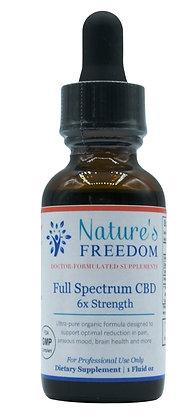 Full Spectrum CBD 6X Strength