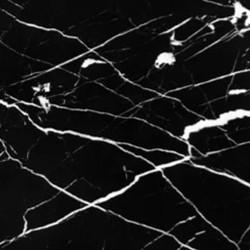 Gloss black marble